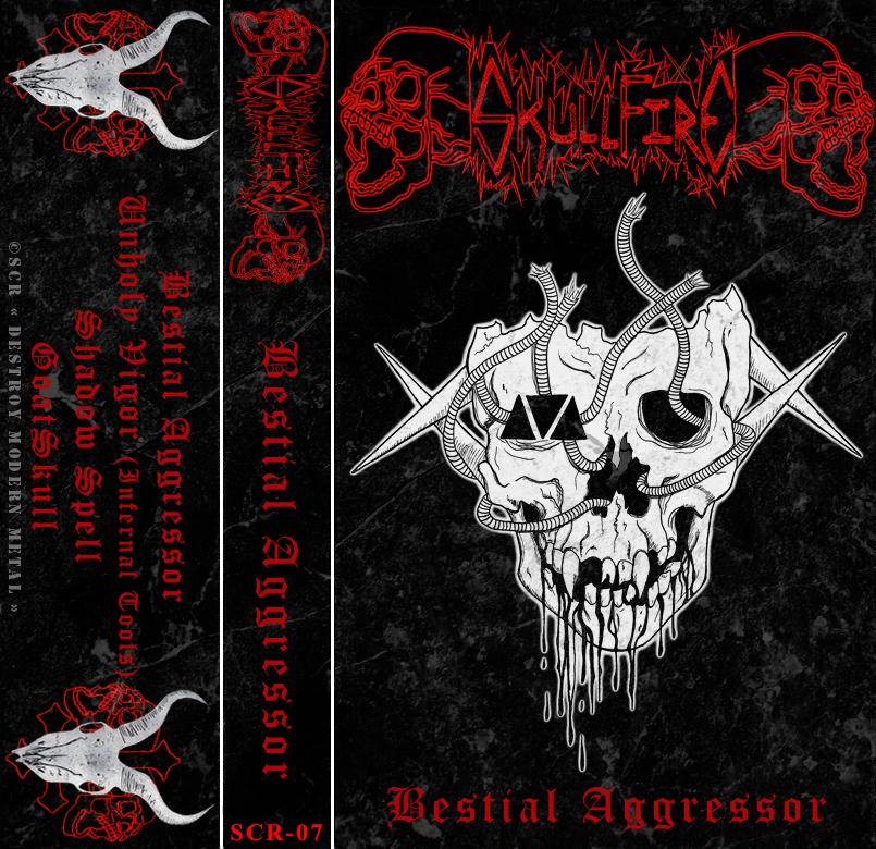 SkullFire - Bestial Aggressor [ep]  (2012)