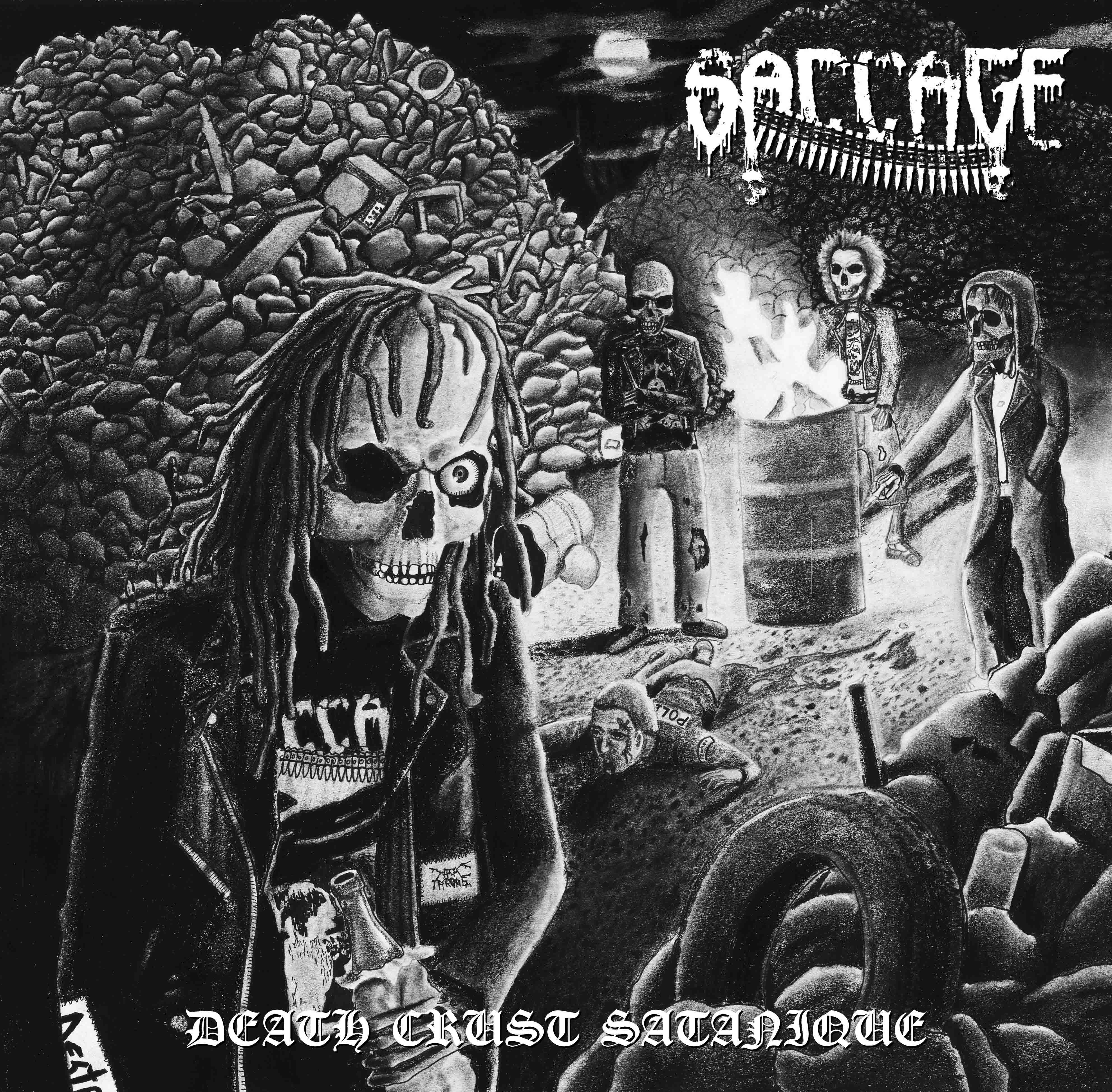 Saccage - Death Crust Satanique (2012)